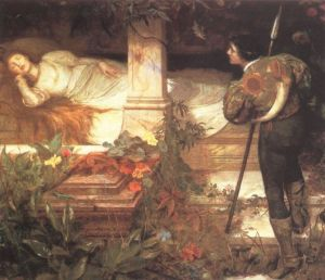 Picture from: http://commons.wikimedia.org/wiki/File:Brewtnall_-_Sleeping_Beauty.jpg