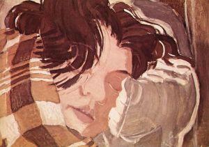 800px-Derkovits,_Gyula_-_Sleeping_Woman