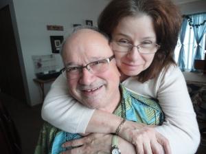 My parents, last Christmas