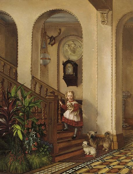 Frederick_Daniel_Hardy_-_The_Staircase