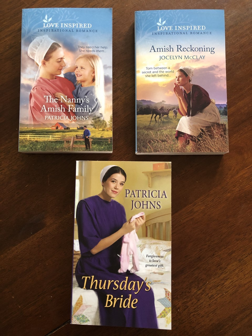 3 book giveaway with JM